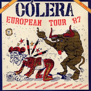 COL02 - Cólera - European Tour '87