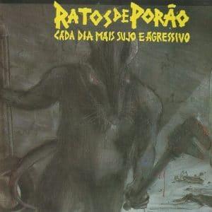 RAT02 - Ratos de Porão -Cada Dia Mais Sujo e Agressivo