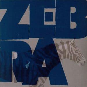 ZEB01 -Zebra -King Biscuit