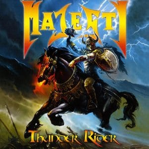 MAJ04 -Majesty -Thunder Rider