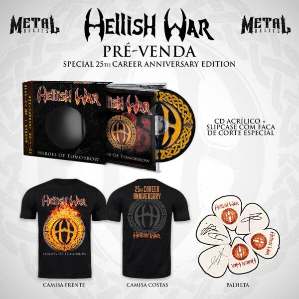 CD Hellish War Heroes of Tomorrow