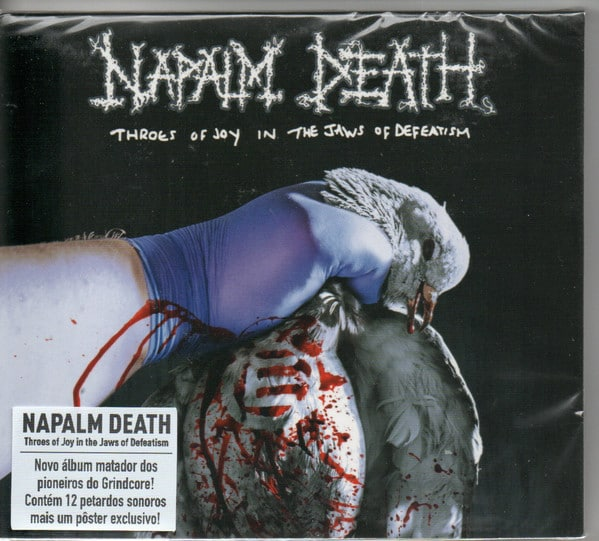 NAP06 -Napalm Death - Throes Of Joy In The Jaws Of Defeatism