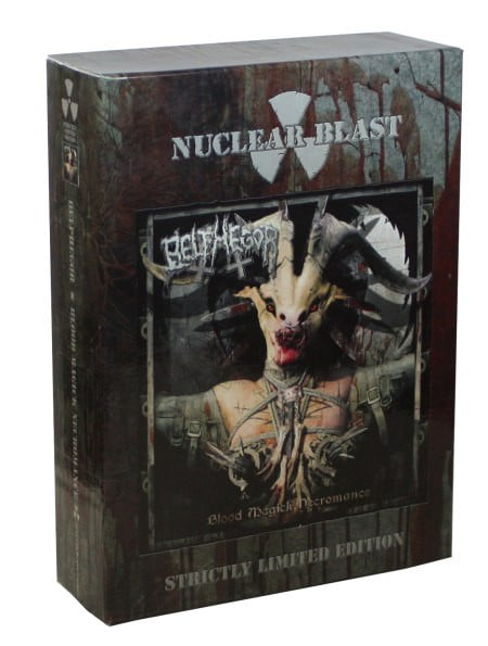 BEL08 -Belphegor - Blood Magick Necromance (Strictly Limited Edition)