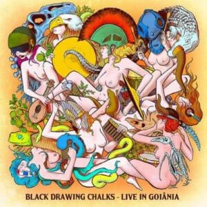 BLA45 -Black Drawing Chalks - Live In Goiânia