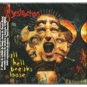 DES28 -Destruction - All Hell Breaks Loose