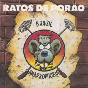 RAT15 -Ratos de Porão - Brasil- Anarkophobia