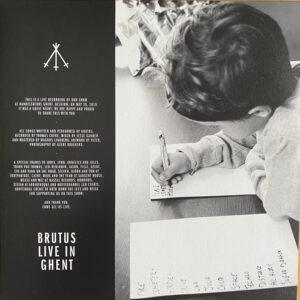 BRU12 -Brutus - Live In Ghent